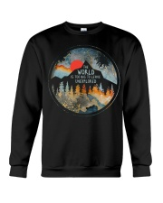 The World Is Too Big Crewneck Sweatshirt thumbnail