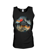 The World Is Too Big Unisex Tank thumbnail