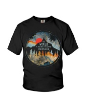 The World Is Too Big Youth T-Shirt thumbnail