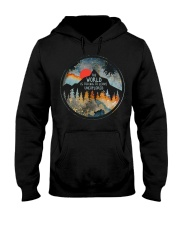 The World Is Too Big Hooded Sweatshirt thumbnail