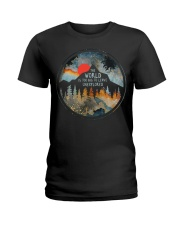 The World Is Too Big Ladies T-Shirt thumbnail