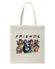 Skull Is Friends Tote Bag thumbnail