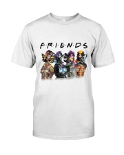 Skull Is Friends Classic T-Shirt front
