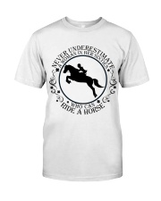 Who Can Ride A Horse Premium Fit Mens Tee thumbnail