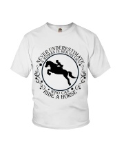 Who Can Ride A Horse Youth T-Shirt thumbnail