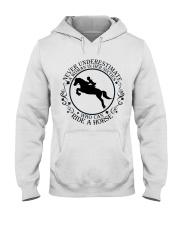 Who Can Ride A Horse Hooded Sweatshirt thumbnail