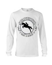 Who Can Ride A Horse Long Sleeve Tee thumbnail