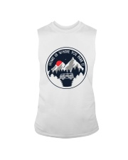 Home Is Where You Park It Sleeveless Tee thumbnail