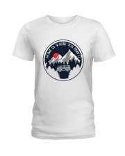 Home Is Where You Park It Ladies T-Shirt thumbnail
