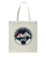 Home Is Where You Park It Tote Bag thumbnail