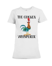 The Chicken Whisperer Premium Fit Ladies Tee thumbnail