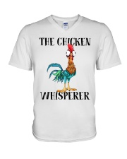 The Chicken Whisperer V-Neck T-Shirt thumbnail