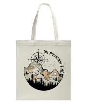 On Mountain Time Tote Bag thumbnail