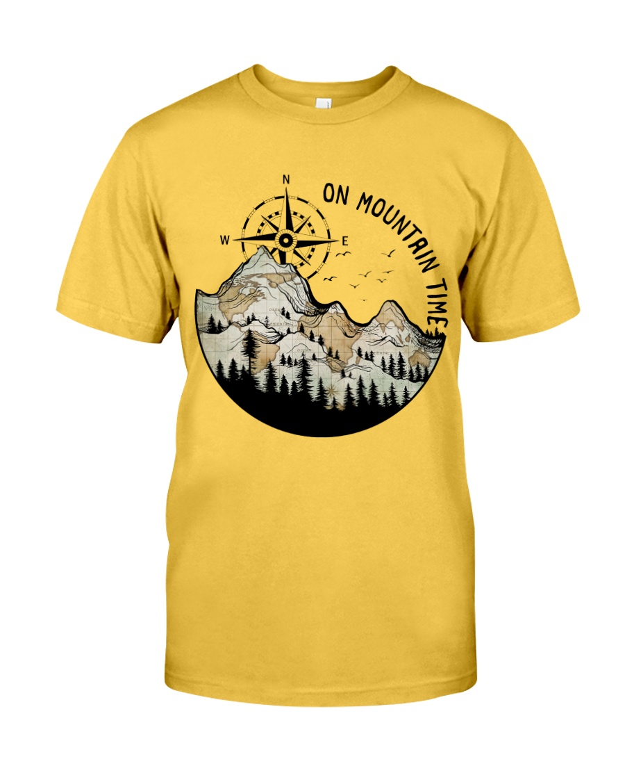 On Mountain Time Classic T-Shirt