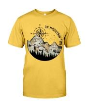On Mountain Time Classic T-Shirt front