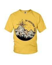 On Mountain Time Youth T-Shirt thumbnail