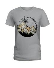On Mountain Time Ladies T-Shirt thumbnail