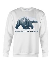 Respect The Locals Crewneck Sweatshirt thumbnail