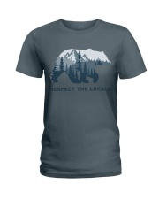 Respect The Locals Ladies T-Shirt thumbnail