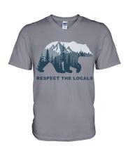 Respect The Locals V-Neck T-Shirt thumbnail