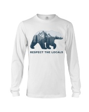 Respect The Locals Long Sleeve Tee thumbnail