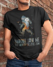 Bigfoot Saw Me Classic T-Shirt apparel-classic-tshirt-lifestyle-26
