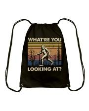 What're You Looking At Drawstring Bag thumbnail