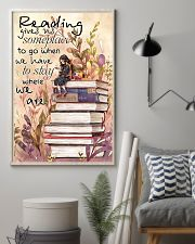 Reading Gives Us Someplace 11x17 Poster lifestyle-poster-1