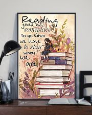 Reading Gives Us Someplace 11x17 Poster lifestyle-poster-2