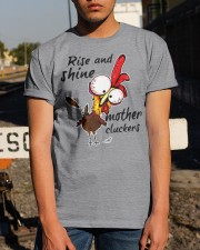 Rise And Shine Mother Cluckers Classic T-Shirt apparel-classic-tshirt-lifestyle-29