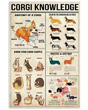 Corgi Knowledge 11x17 Poster front