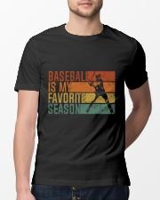 Baseball Is My Favorite Season Classic T-Shirt lifestyle-mens-crewneck-front-13