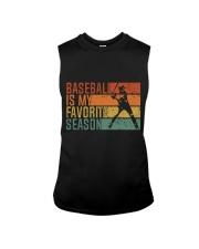 Baseball Is My Favorite Season Sleeveless Tee thumbnail
