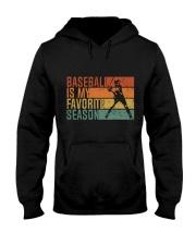 Baseball Is My Favorite Season Hooded Sweatshirt thumbnail