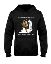 Rugby Because Pads Hooded Sweatshirt thumbnail