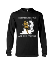 Rugby Because Pads Long Sleeve Tee thumbnail