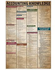 Accounting Knowledge 11x17 Poster front