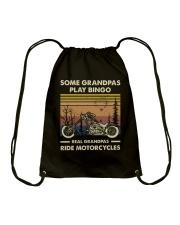 Some Grandpas Play Bingo Drawstring Bag tile