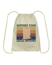 Support You Local Witches Drawstring Bag thumbnail