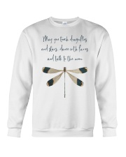 May You Touch Dragonflies Crewneck Sweatshirt thumbnail