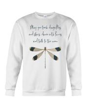 May You Touch Dragonflies Crewneck Sweatshirt thumbnail