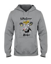 Whatever Heifer 1 Hooded Sweatshirt front