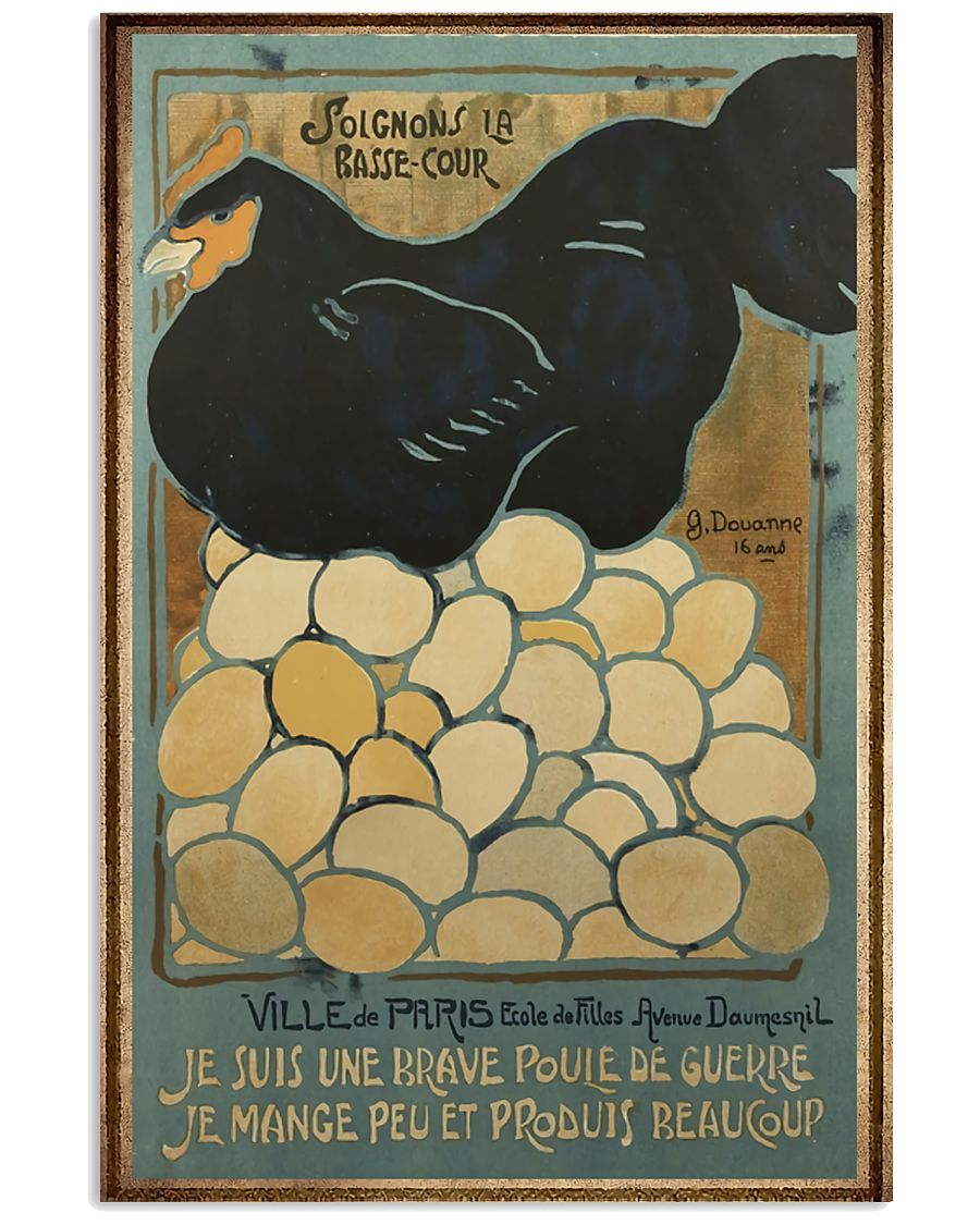 Love Chickens 11x17 Poster
