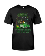It's The Most Wonderful Time Classic T-Shirt front