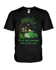 It's The Most Wonderful Time V-Neck T-Shirt thumbnail