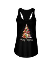 Merry Christmas Ladies Flowy Tank thumbnail