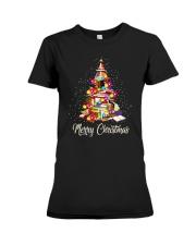 Merry Christmas Premium Fit Ladies Tee thumbnail
