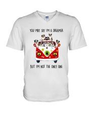 Australian Shepherd V-Neck T-Shirt thumbnail