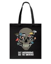 Eat Mushrooms Tote Bag thumbnail