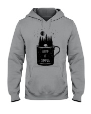 Keep It Simple 3 Hooded Sweatshirt tile